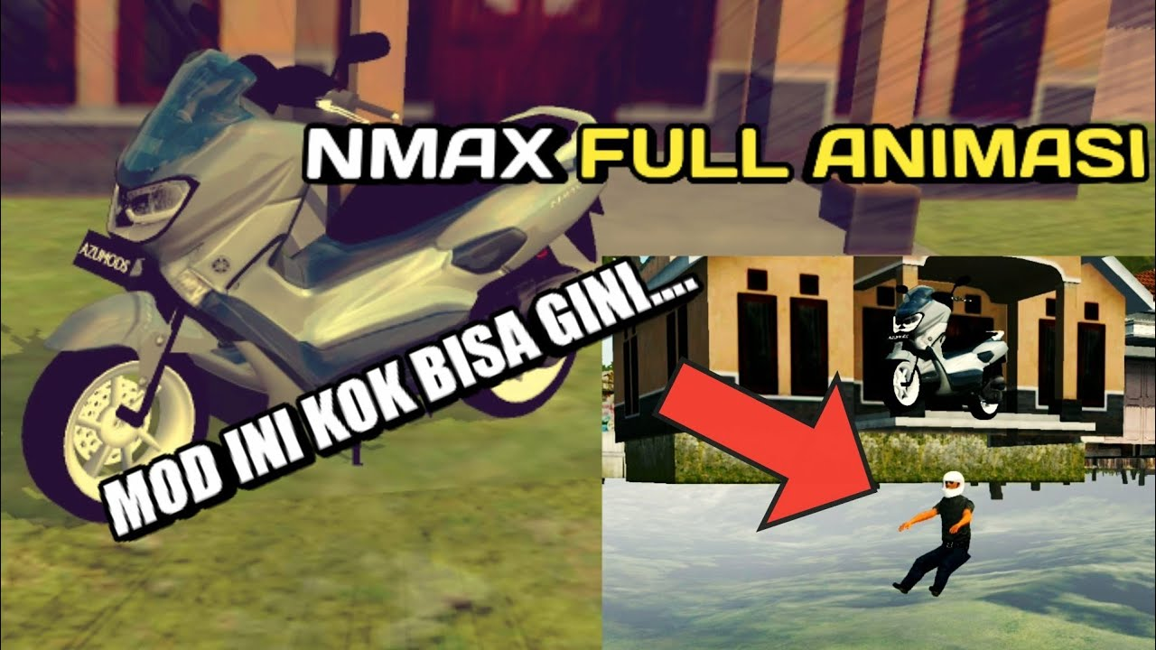 MOD UNIK FULL ANIMASI KOCAK BANGET NMAX BUSSID V 3 3 2