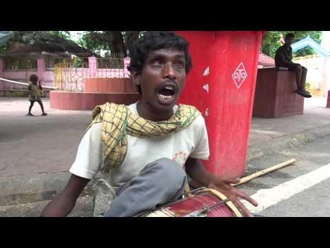 Bihar BodhGaya :- Traditional song sing a blind