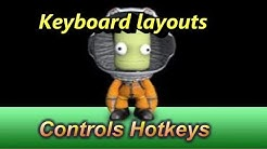 Kerbal Space Program : Keyboard,layouts, Controls & Hotkeys