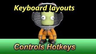 Kerbal Space Program : Keyboard,layouts, Controls & Hotkeys