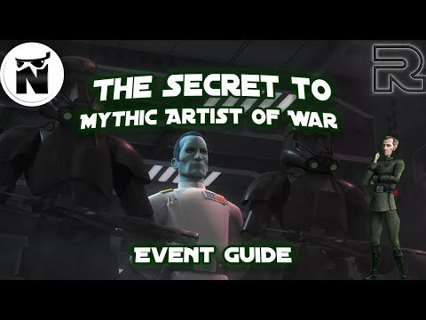 Secret to Artist of War Mythic Event! | Final Tier 3 | Star Wars: Galaxy of Heroes