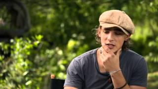 "Maleficent: Brenton Thwaites ""Prince Philip"" On Set Movie Interview"