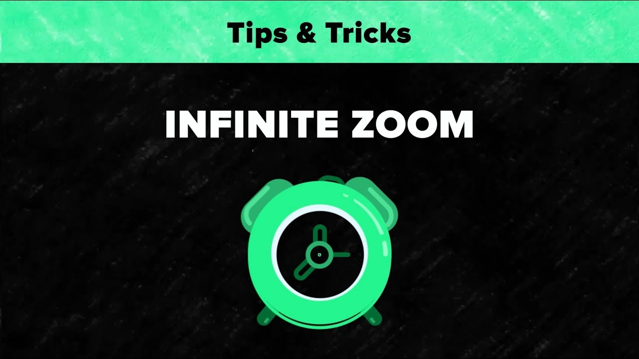 After Effects Tips & Tricks - Infinite Zoom