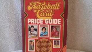 Baseball Card Price Guide ISBN # 0-937424-07-2