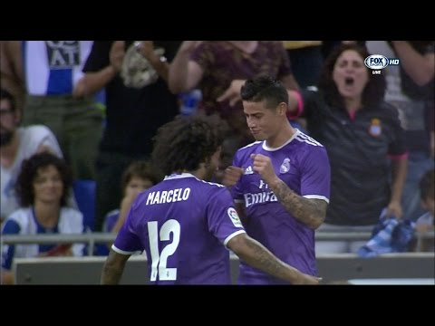 James Rodriguez vs Espanyol Away HD (18/09/2016) by JamesR10™
