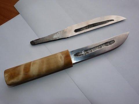 Выковал я нож якутский.