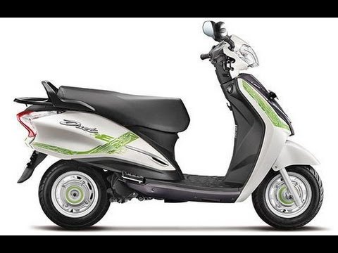 Hero Duet-E First Look - Electric Scooter Concept at Auto Expo 2016