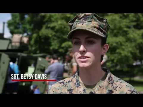 Fleet Week New York 2017: Marine Day