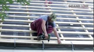 видео Металлочерепица Grand line (Гранд Лайн) — обзор