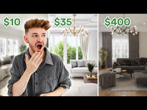 I HIRED 5 Interior / Web Designers to MAKEOVER MY LIVING ROOM!