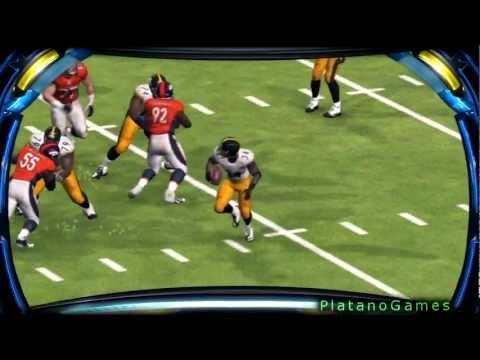 NFL 2012 Season Week 1 SNF - Pittsburgh Steelers vs Denver Broncos - 2nd Half - Madden NFL