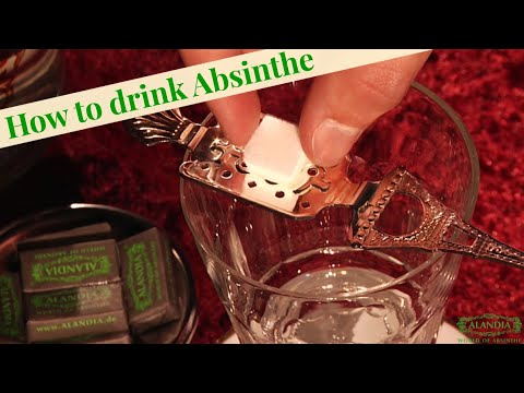 Absinthe: How to drink it the traditional way
