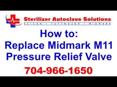 How To Replace A Pressure Relief Valve On A Midmark M11 - STATIMUSA.COM