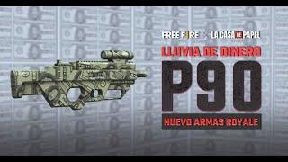 P90 DE LA CASA DE PAPEL 💥 | Garena Free Fire