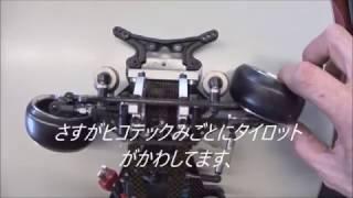 タミヤTRF414Mにビアンカのスライドレールを付けてRWDドリフト車を造り...