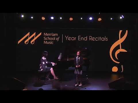 Muriel year end recital 2019 @ Merriam School of Music