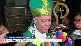 Arzobispo de Puebla pidió a nuevos alcaldes enfocarse a la seguridad