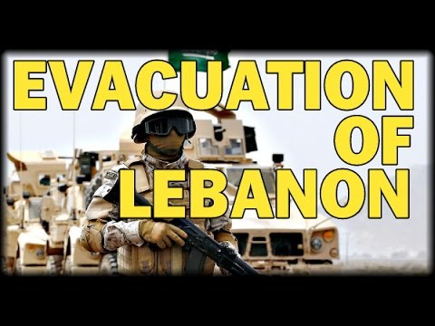 EVACUATION: NATIONS CALL CITIZENS TO LEAVE LEBANON AHEAD OF MAJOR GROUND OFFENSIVE