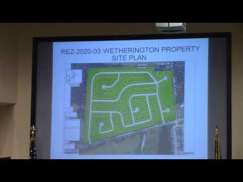6b. REZ-2020-03 Wetherington Property, Val Del Rd. R-A to P-D