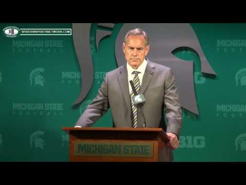 Mark Dantonio Press Conference discussing Donnie Corley, Josh King and Demetric Vance