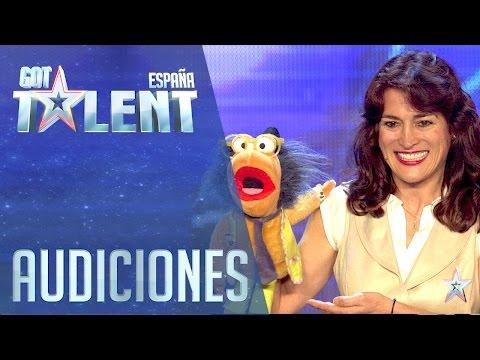 Cuando la veas cantar no te lo vas a creer | Audiciones 4 | Got Talent España 2016