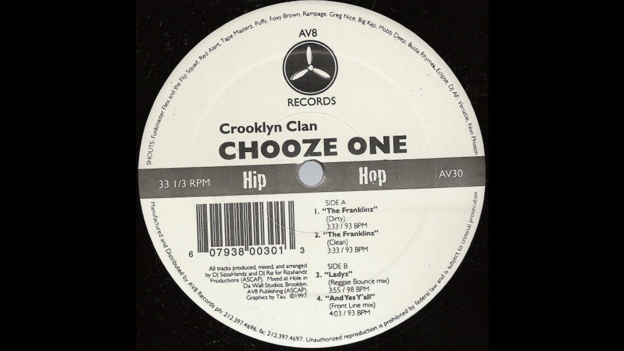 Crooklyn Clan - Franklinz