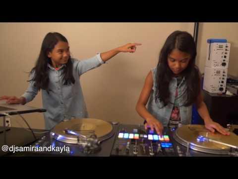 Amira & Kayla Practicing To Steve Aoki Rolex Remix