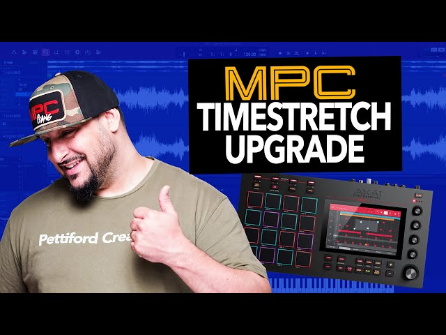 THEY FIXED IT! MPC One /Live/X  Standalone Sample Timestretch is getting an OVERHAUL in 2.8! (WOW)