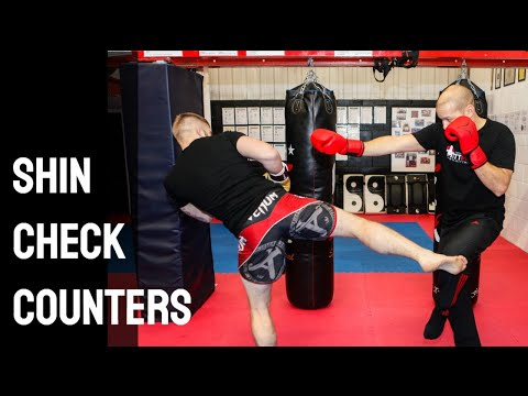 Muay Thai Shin Check Counters