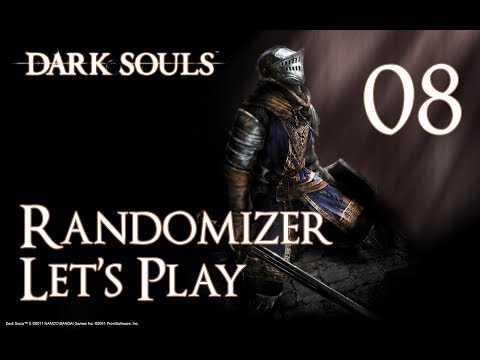 Dark Souls - Randomizer Let's Play Part 8: My favorite Dark Souls Boss