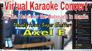Virtual Karaoke Concert by Ms. Helen for the Outreach in Manila