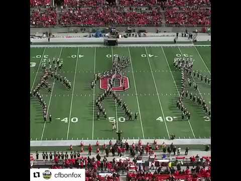 Rachel Lutzker - Ohio State Marching Band Can Floss!