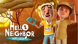 ENCONTRANDO TODOS OS BRINQUEDOS - Hello Neighbor Hide and Seek