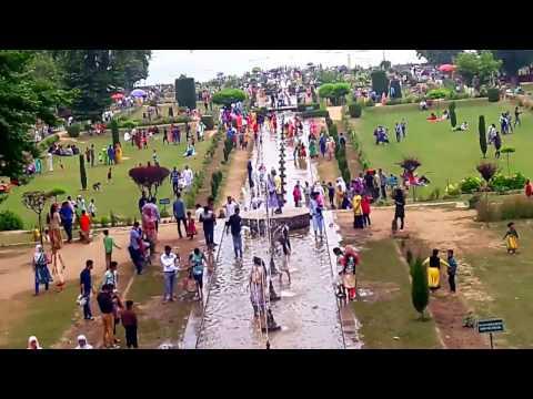Summer view of Nishat park(Mughal Garden)