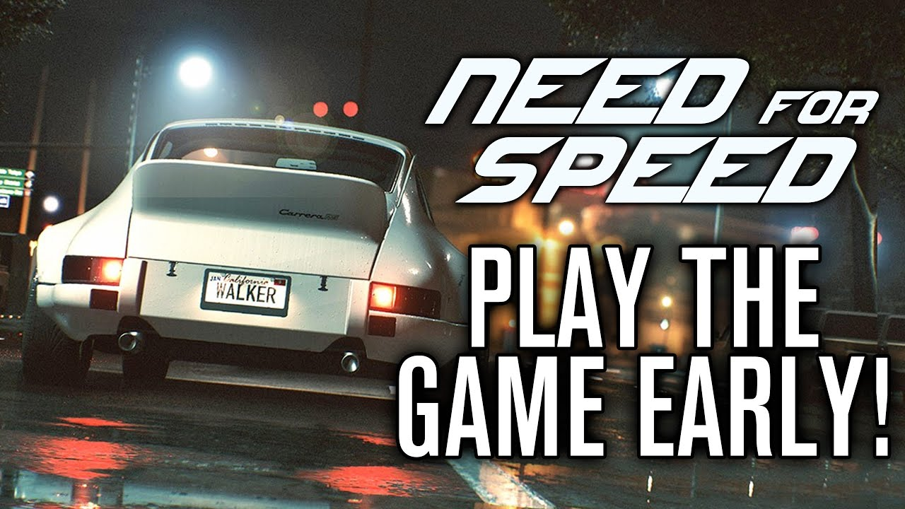 need for speed 2015 e3 play early deluxe edition de doovi. Black Bedroom Furniture Sets. Home Design Ideas