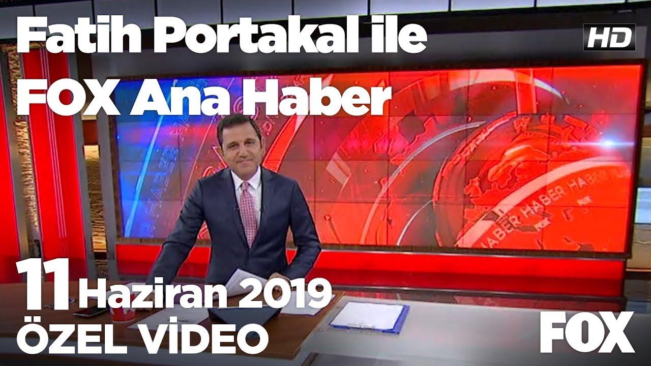 ABD pilotlarımızın F-35 eğitimini durdurdu... 11 Haziran 2019 Fatih Portakal ile FOX Ana Haber