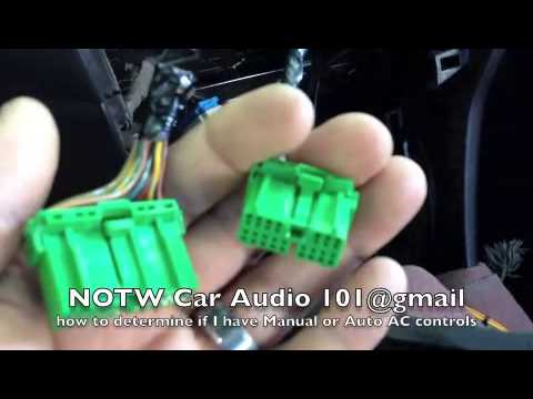 hqdefault how to metra dash kit 99 7803g honda accord manual or auto ac