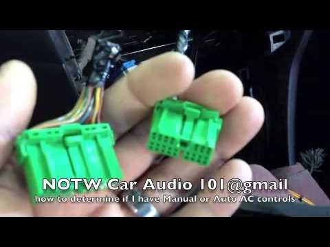 How To: Metra Dash Kit 99-7803G Honda Accord Manual Or Auto AC Controls?