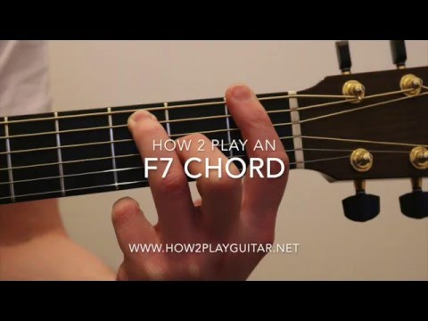 How to play a F7 chord on guitar - YouTube