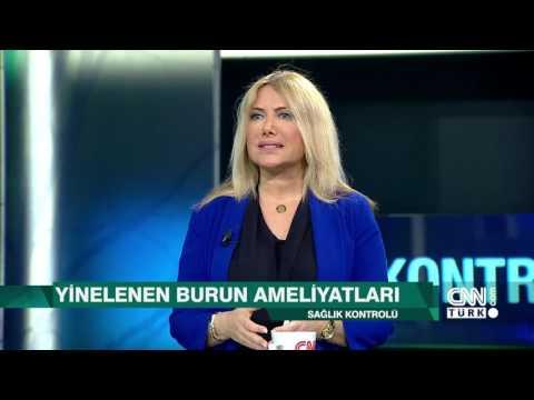 Dr. Süreyya Şeneldir Cnn türk 'te Burun estetiğini anlatıyor
