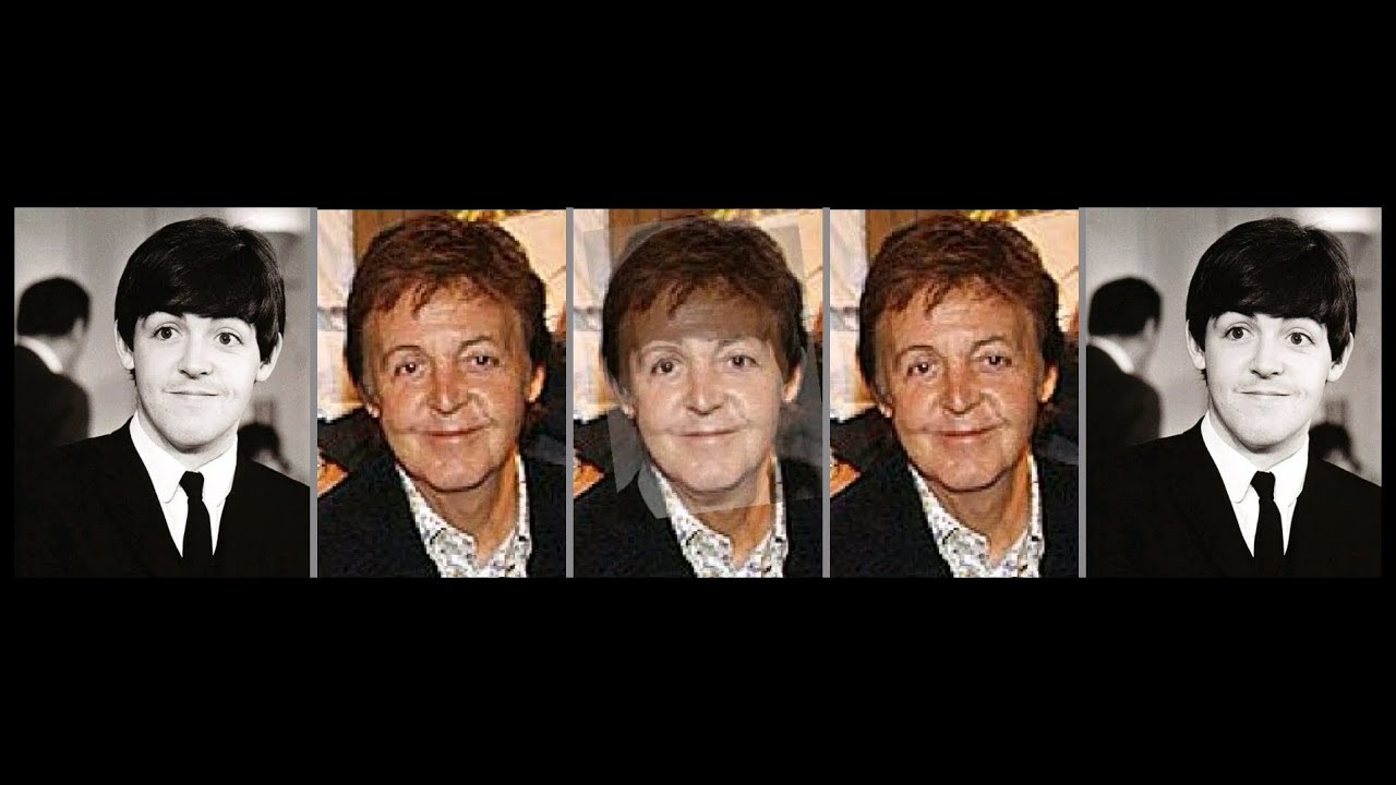 Paul McCartney Photo Comparison 19642006
