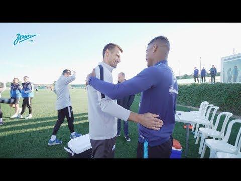 Барриос в «Зените»: знакомство с командой / Wilmar Barrios en Zenit: primer dia