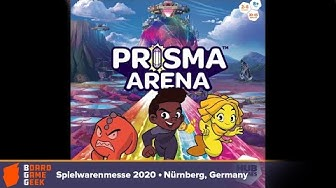 Prisma Arena — game preview at Spielwarenmesse 2020