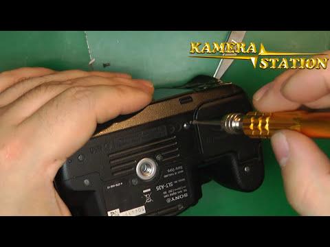 1B46 SONY SLT A55 A33 A35 DISPLAY KAMERA REPARATUR ANLEITUNG /  Kamera Handy Station Repair Guide