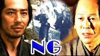 2月21日に急逝された大杉漣さんと清兵衛との決闘シーンで冷や汗物のNG。...
