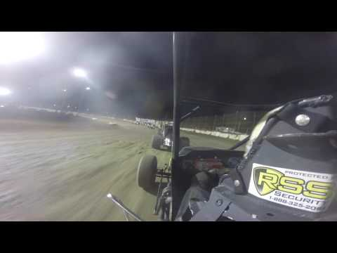 Brian Smith In Car Camera from the BOSS race At Fremont Speedway 5-13-17