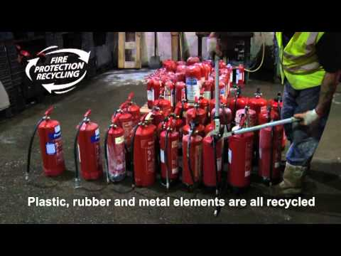 Fire Extinguisher Disposal by Fire Protection Recycling