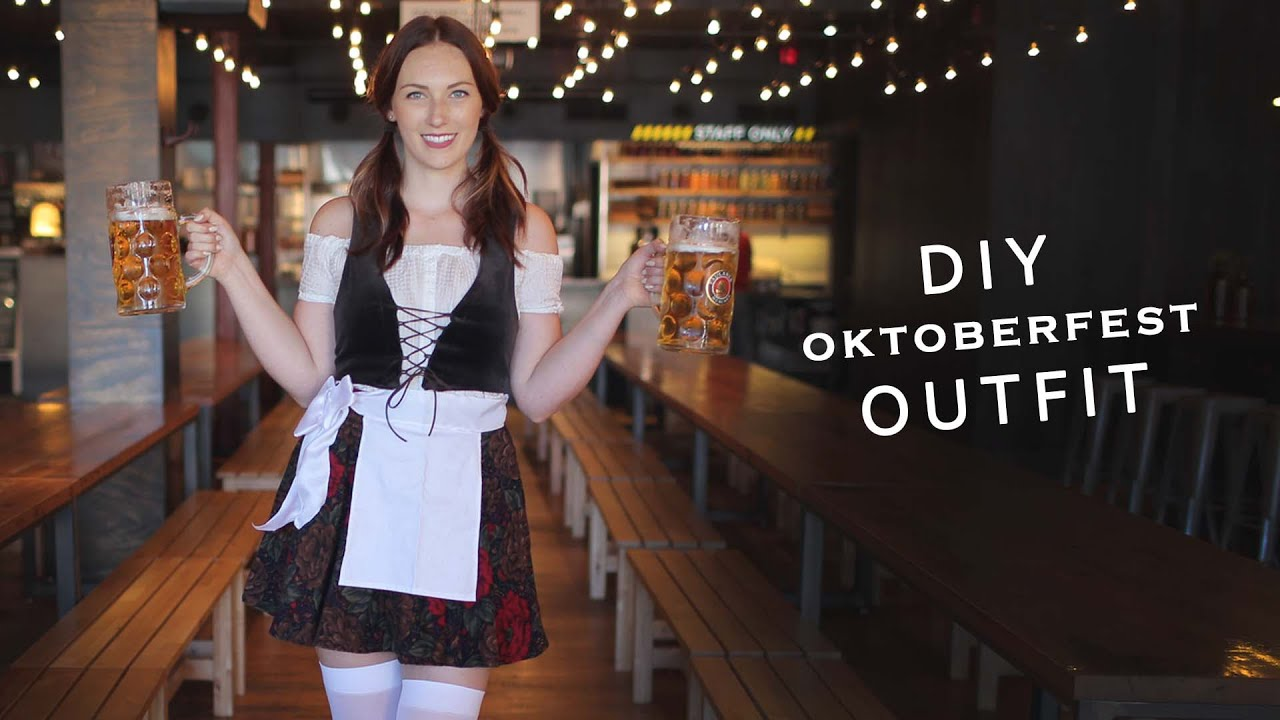 Diy oktoberfest dress the sorry girls youtube diy oktoberfest dress the sorry girls solutioingenieria Image collections