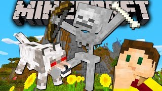 Minecraft 1.8 Snapshot: Wolf Hunts Skeleton, Scaredy Bones, Mob & Entity Score, Release Time