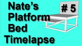Building My Platform Bed: Real Life. Timelapse #5